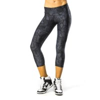 Pink Sun Black Snake Womens Leggings