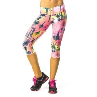 Pink Sun California Dreaming Womens Capris